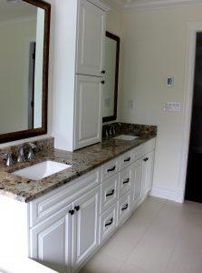 custom wood bathroom